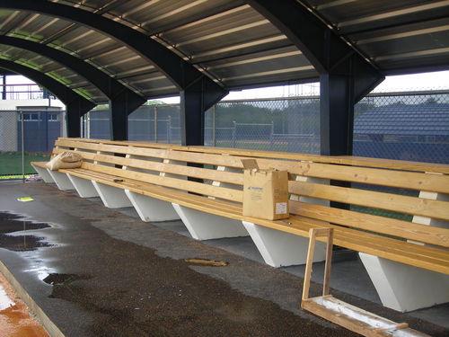 Baseball Dugout Benches