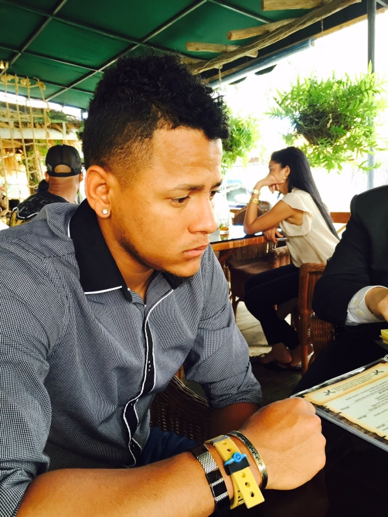 Cardinals right-hander Carlos Martinez, speaking through tears, talks about the loss and memory of his best friend.